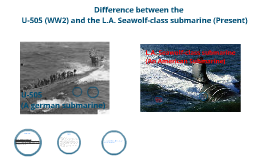 Difference between U-505 and Seawolf-class submarine