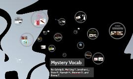 Copy of Mystery Vocab