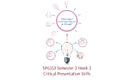 SP6352 Semester 2 Week 2