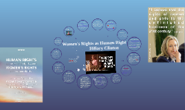 Copy of Women's Rights as Human Right