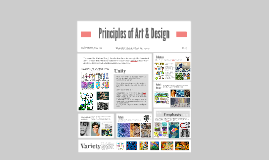 Principles of Art & Design