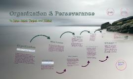 Organization & Perseverance