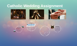 Catholic Wedding Assignment