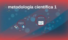 metodología científica 1
