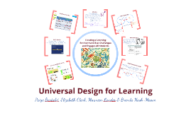 Copy of Universal Design for Learning