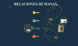 RELACIONES HUMANAS.