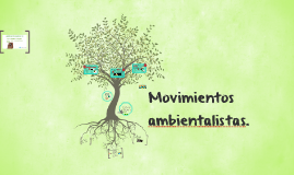 Copy of Movimientos ambientalistas.