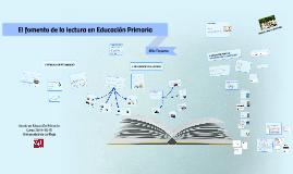 El fomento de la lectura en Educación Primaria