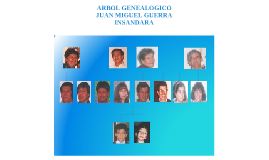 ARBOL GENEALOGICO FAMILIA GUERRA INSANDARA JUAN MIGUEL INSANDARA