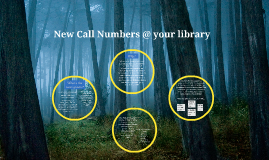New Call Numbers @ your library
