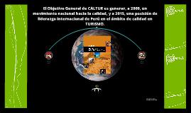 Copy of Caltur - Plan Nacional de Calidad Turística del Perú