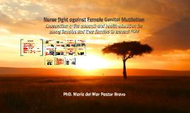 Nurse fight against the Female Genital Mutilation