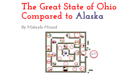 The Great State of Ohio Compared to Alaska