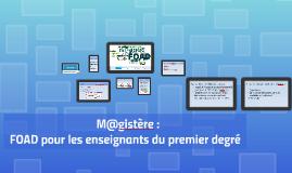 M@gistère stage directeurs 9 juin 2015