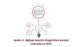 Sesión 2. Relizar nuestro diagnóstico escolar centrado en NN