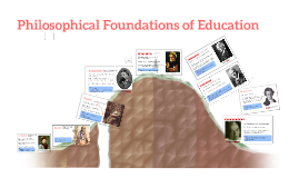 Copy of Philosophical Foundations of Curriculum