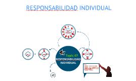 Topic07: Responsabilidad Individual
