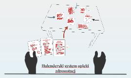 Holenderski system opieki zdrowotnej
