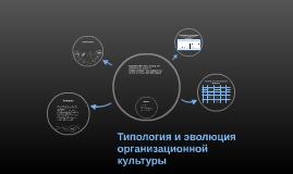 Типология и эволюция организационной культуры