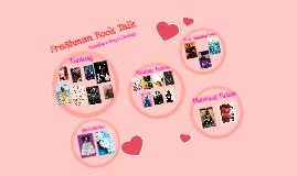 Sophomore Valentine's Book Talk #2