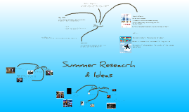 Copy of Summer Research