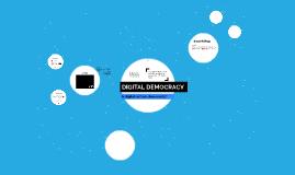 DIGITAL CULTURES 4: DEMOCRACY