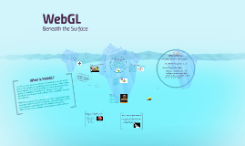 Beneath the surface: WebGL