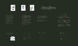 ASL Classifiers