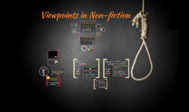 Viewpoint in non-fiction
