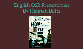 English OSR Presentation