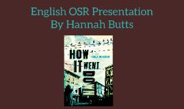 English OSR Presentation