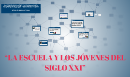 """""""LA ESCUELA Y LOS JÓVENES DEL SIGLO XXI"""""""