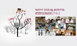 Ciya and Yoyo 5th months anniversary:)