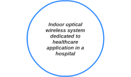 Indoor optical wireless system dedicated to healthcare