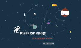 NASA Low Boom Challenge!