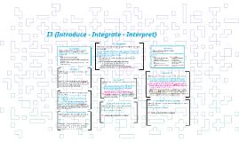 ODYSSEY I3 {Introduce - Integrate - Interpret}
