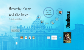 Hierarchy, Order, and Obedience