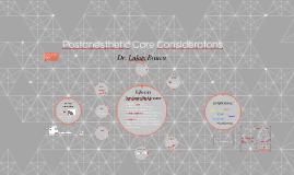 Postanesthetic care