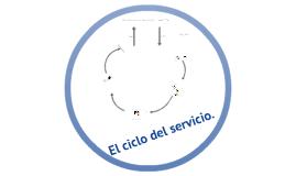 El ciclo del servicio.