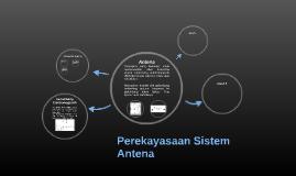 Perekayasaan Sistem Antena