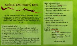 Animal IN Control