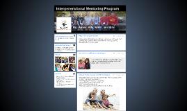 Intergenerational Mentoring Program