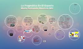 Copy of Lo Pragmático En El Espacio