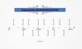 Etapy projektu SZLACHETNA PACZKA