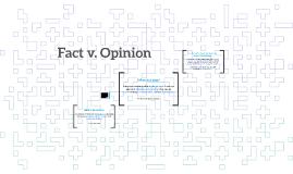 Fact v. Opinion