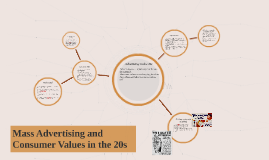 Mass Advertising and Consumer Values in the 20s