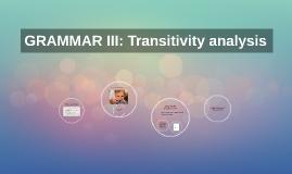 GRAMMAR III: Clase de concurso