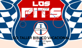 GO: TALLER BIBLICO VACACIONAL