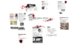 Forensics Final Project: The Zodiac Killer