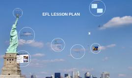 EFL Lesson plan